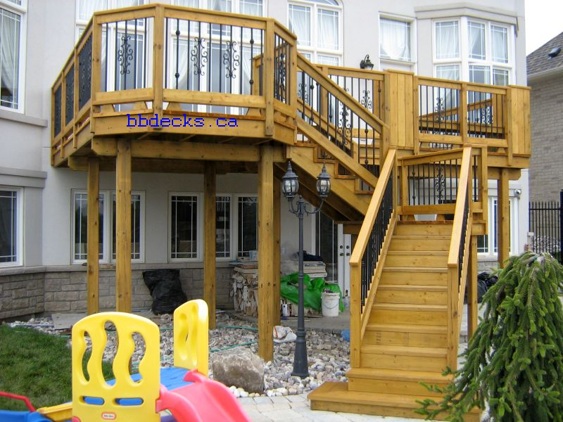 High Deck Deck Designs High Elevation Decks