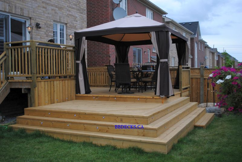 Multi Level Patio Decks : MultiLevel Deck  MultiLevel Deck Designs  Multilevel Decks Images