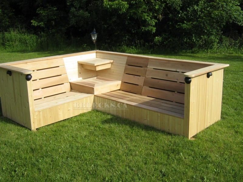 Benches Flower Boxes Beaver Brothers Deck Builder