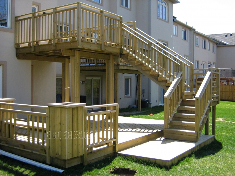 Multi Level Patio Decks : MultiLevel Deck Designs  MultiLevel Decks  MultiLevel Deck