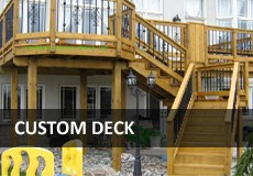 Custom Toronto Deck Builder