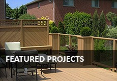 Featured Deck Projects